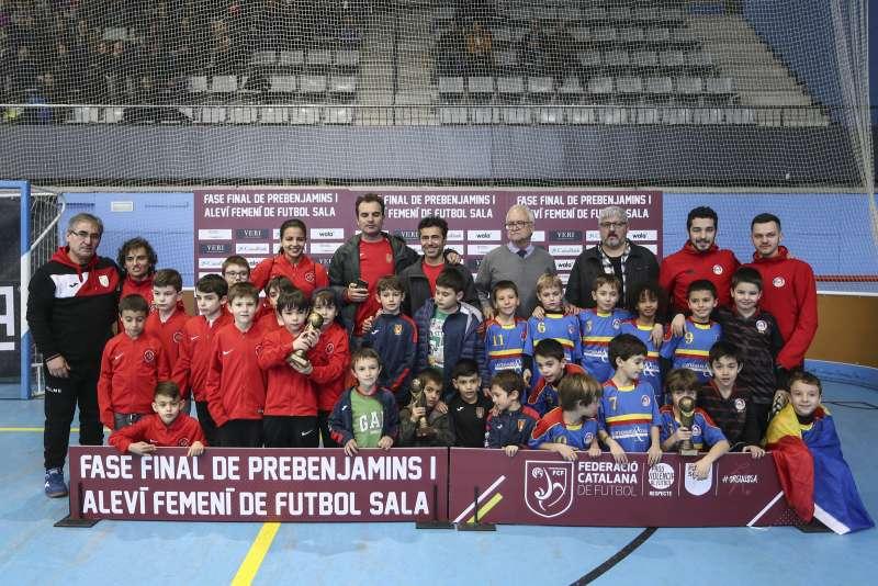 GRUP I - PREBENJAMÍ: Cardedeu FS, Esportiu Gonzalez Serra Club i Selecció d'Andorra