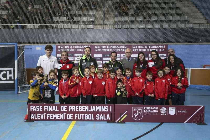 GRUP K - PREBENJAMÍ: CFS Corbins, Racing Pineda FS 'C' i CFS Sant Joan Despí 'B'