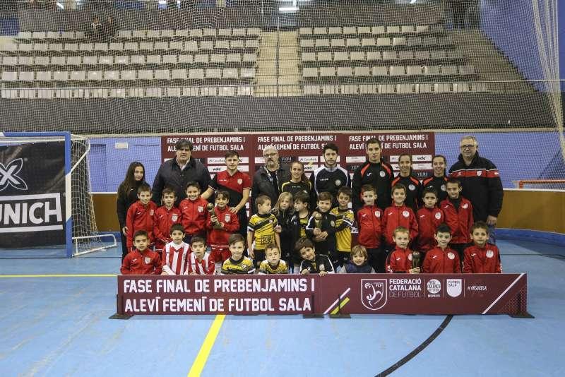 GRUP S - PREBENJAMÍ: Roger's Atlètic Català FS, FS Ripollet i Futsal Athletic Vilatorrada