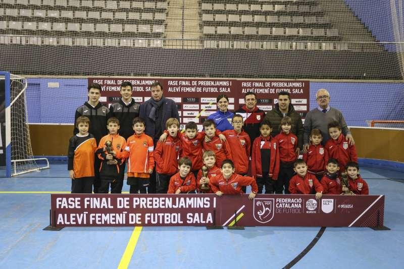 GRUP T - PREBENJAMÍ: CFS Esparreguera, FS Castellar i Sant Joan de Vilassar FS