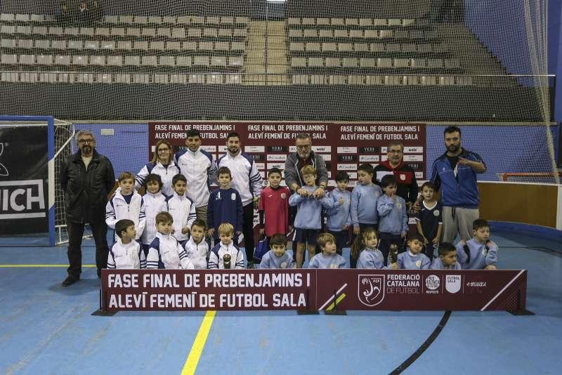 GRUP U - PREBENJAMÍ: CF Dosriurs Maresme, Roquetes Futsal i Badalona Futsal Iris