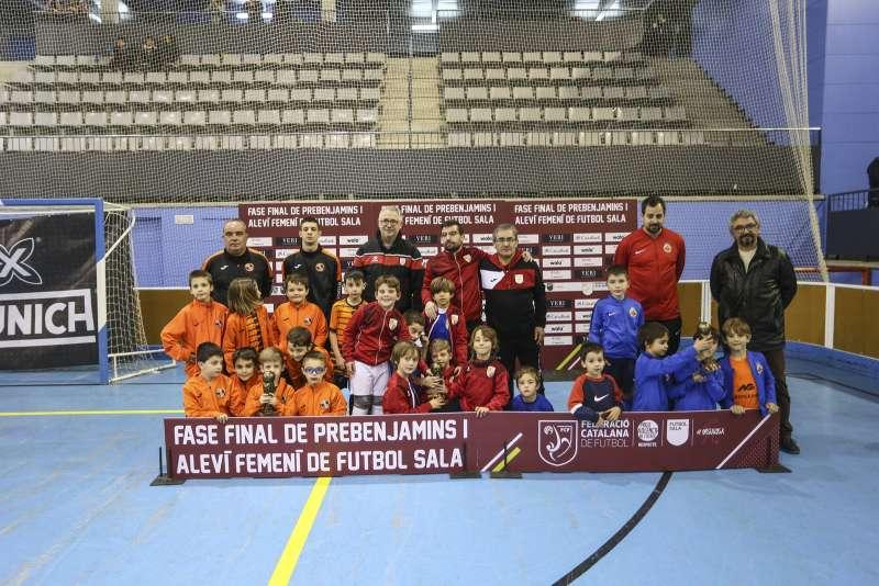 GRUP X - PREBENJAMÍ: CFS Premià de Dalt, CFS Montcada i CE Futsal Vicentí
