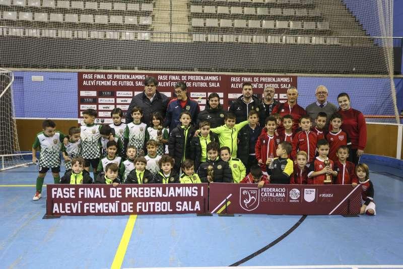 GRUP Y - PREBENJAMÍ: Sport Sala Santa Perpètua, Industrias Santa Coloma i FS Olesa