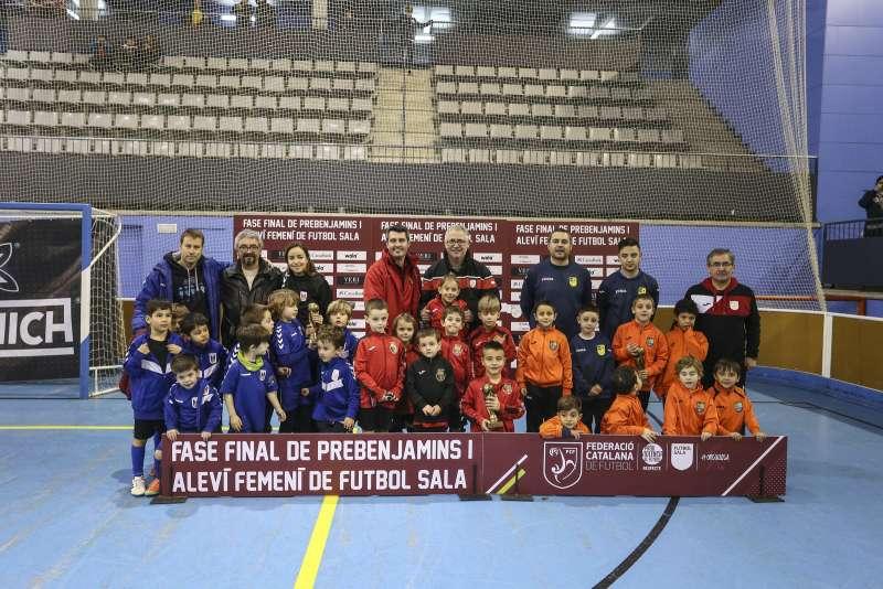 GRUP Z - PREBENJAMÍ: Olimpyc Floresta, CFS Manent Rambla i FS Pallejà 'C'