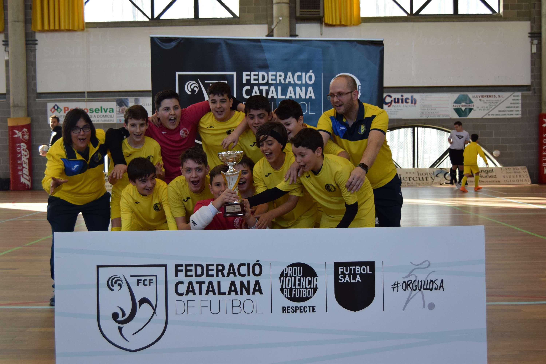 Campions de la Copa Girona Infantil - EFS Palafolls