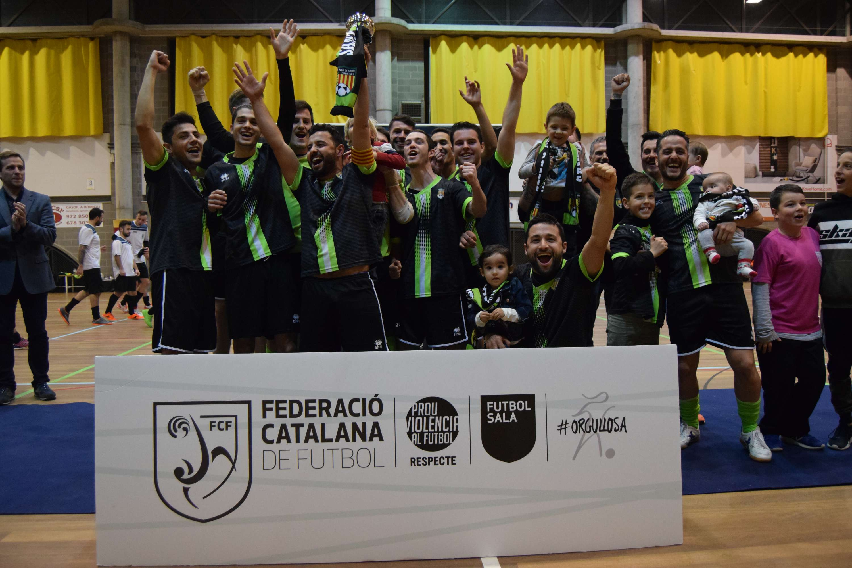 Campions de la Copa Girona Sènior - Sant Julià de Ramis FS