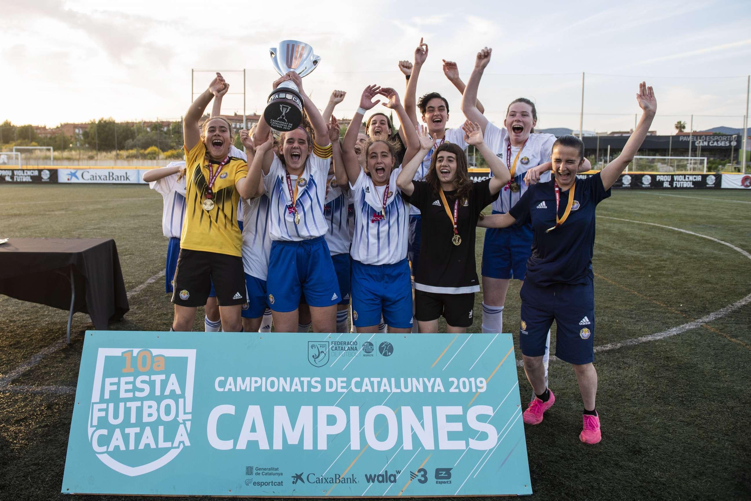 Campiones Cadet Femení 2018-2019