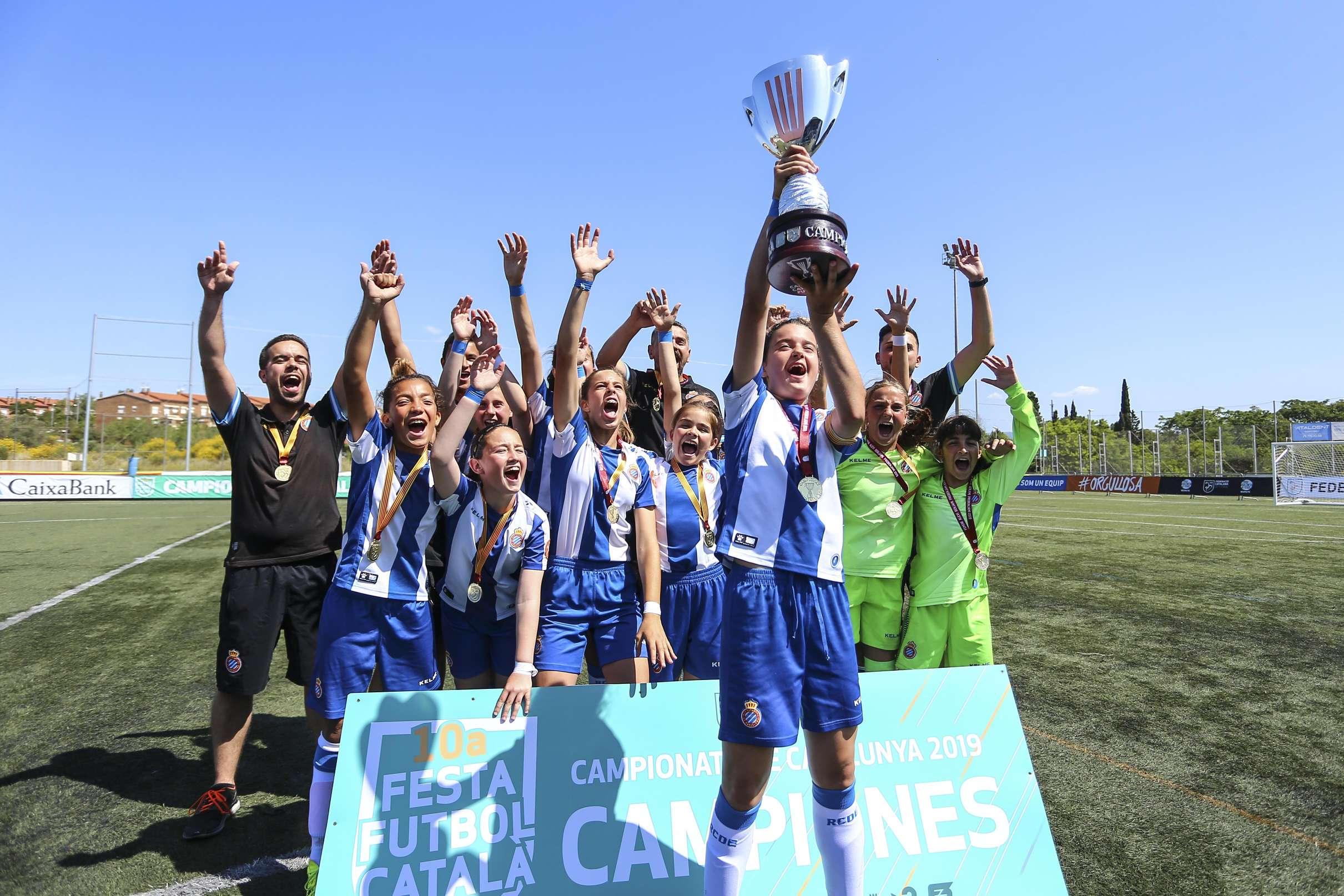 Campiones Aleví Femení 2018-2019