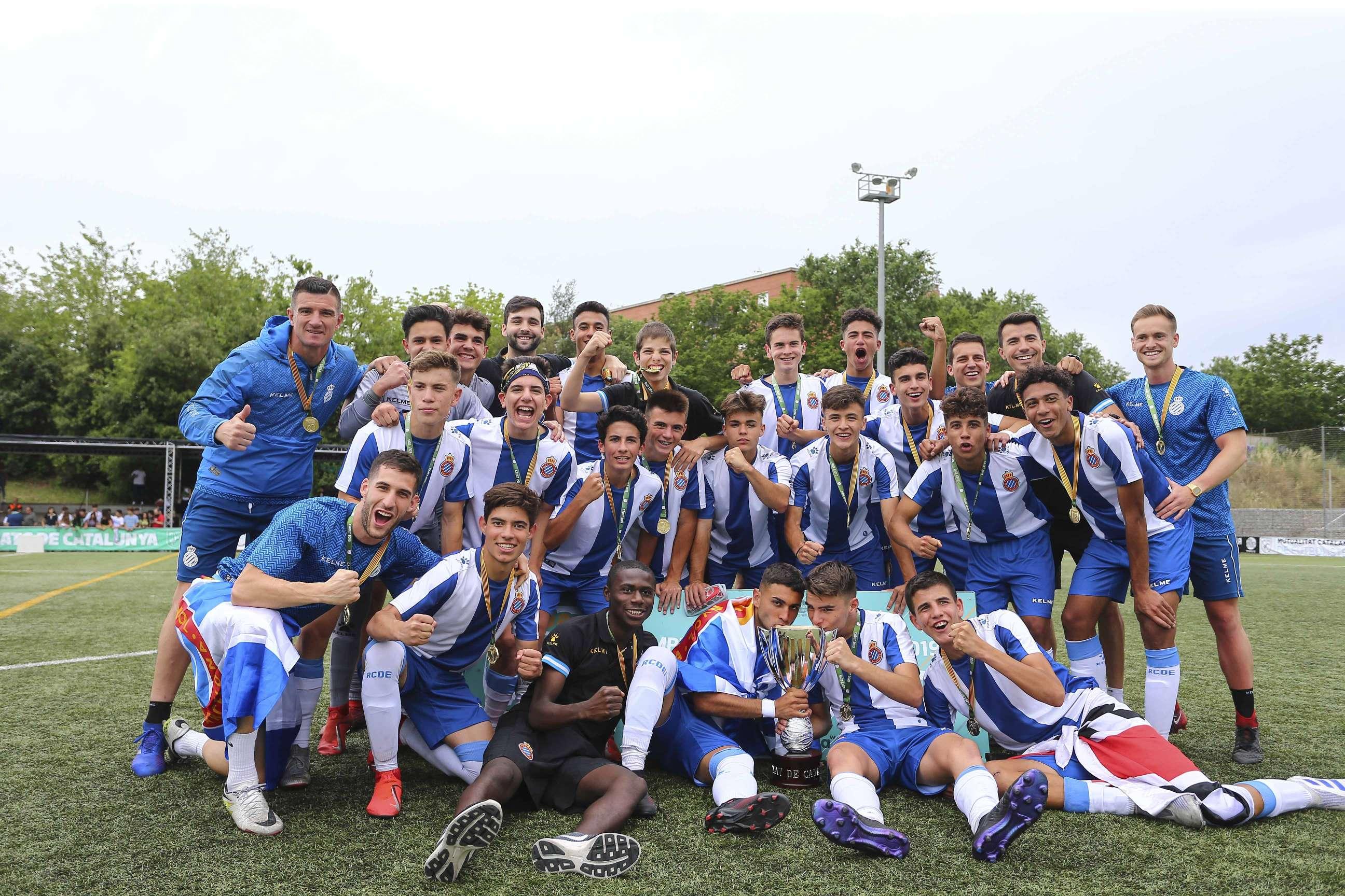 El RCD Espanyol, campió de Catalunya Cadet 2018-2019