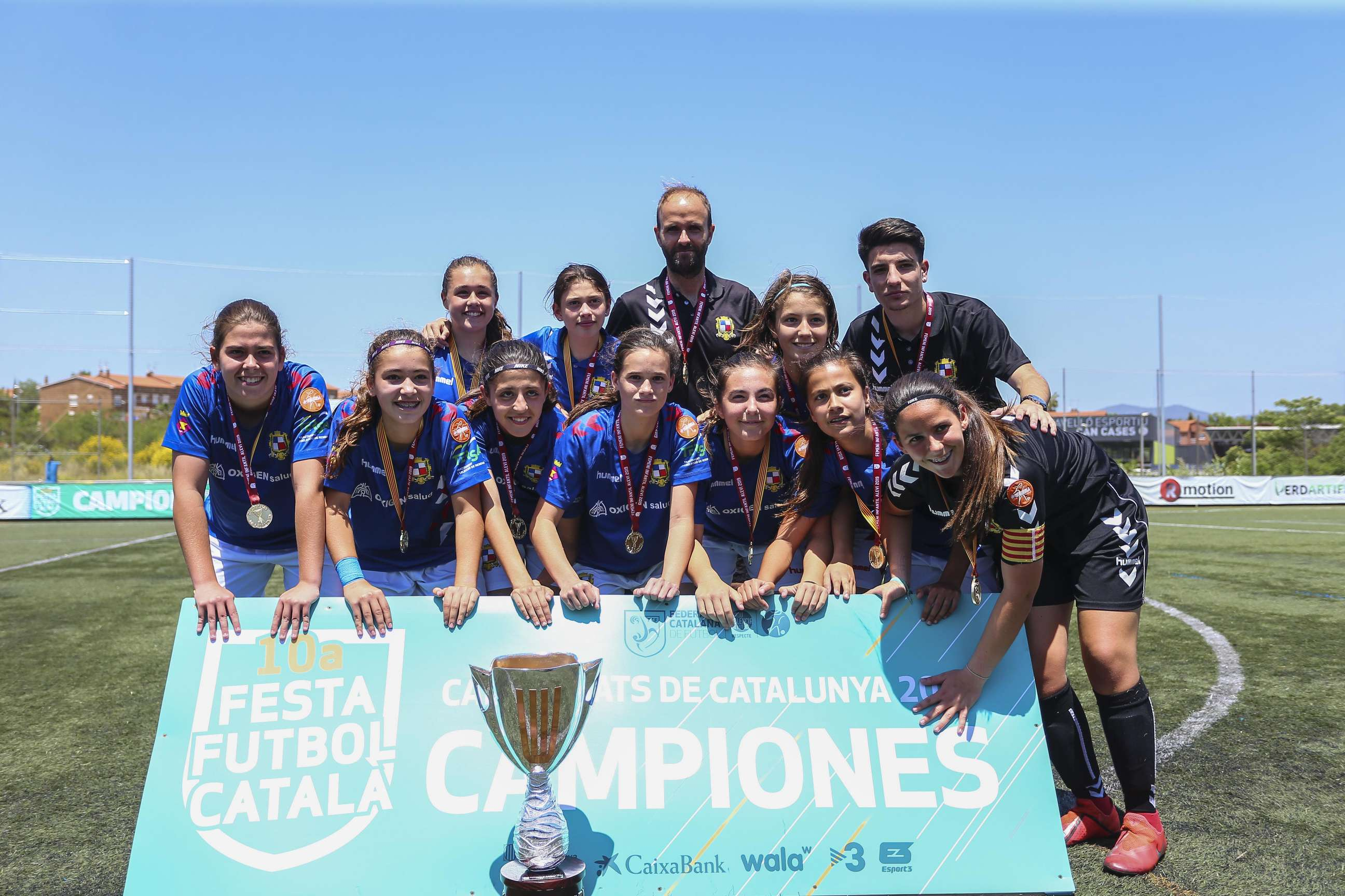 Campiones de Catalunya Infantil femení 2018-2019