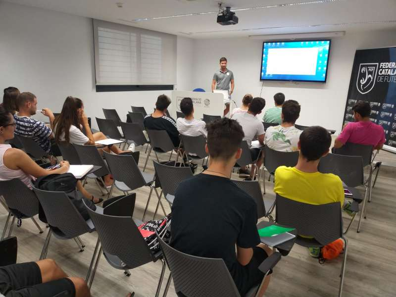 1r torn Curs Àrbitres i Àrbitres Assistents de Futbol Sala - Sabadell