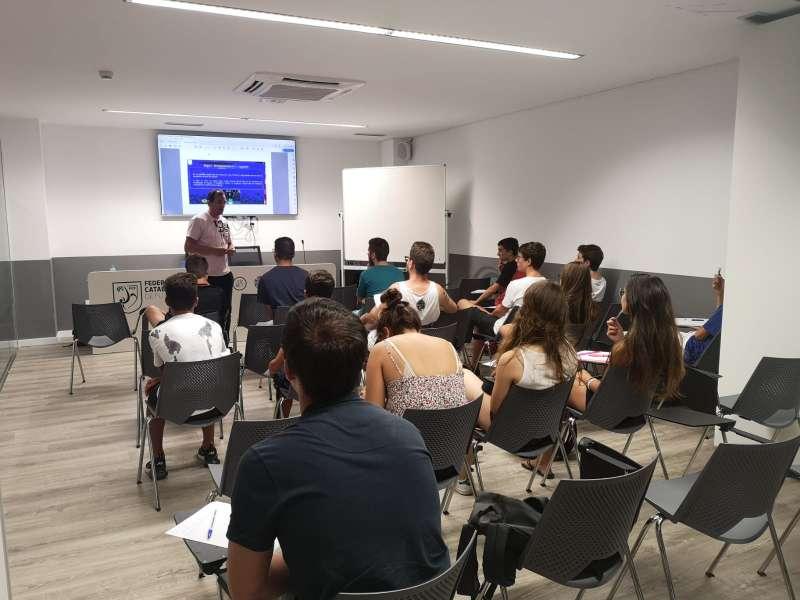 1r torn Curs Àrbitres i Àrbitres Assistents de Futbol Sala - Mataró