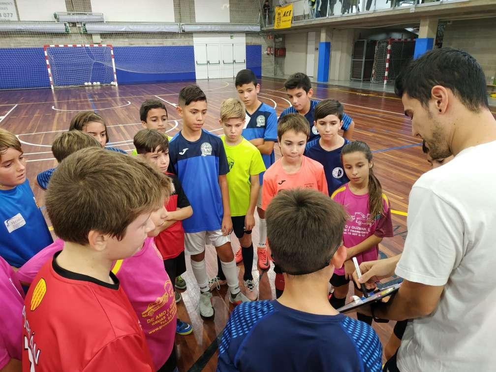 2a sessió entrenament Selecció Comarcal - Aleví Girona
