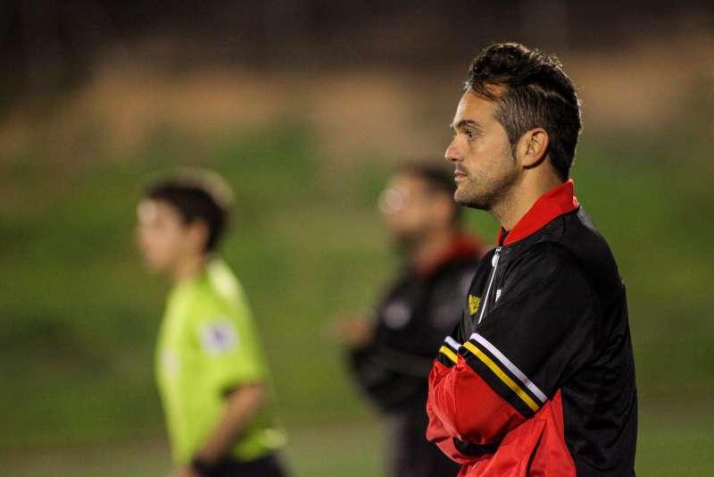 Dani Poyatos com a seleccionador sub 18 masculí (2015-2016).