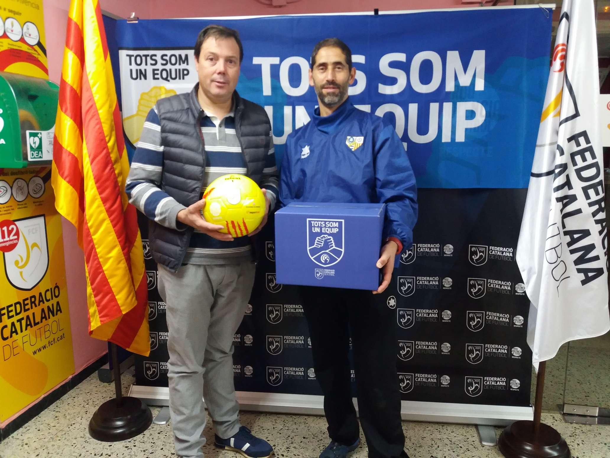 El coordinador de la JE Santa Eugènia, Jordi Rodríguez