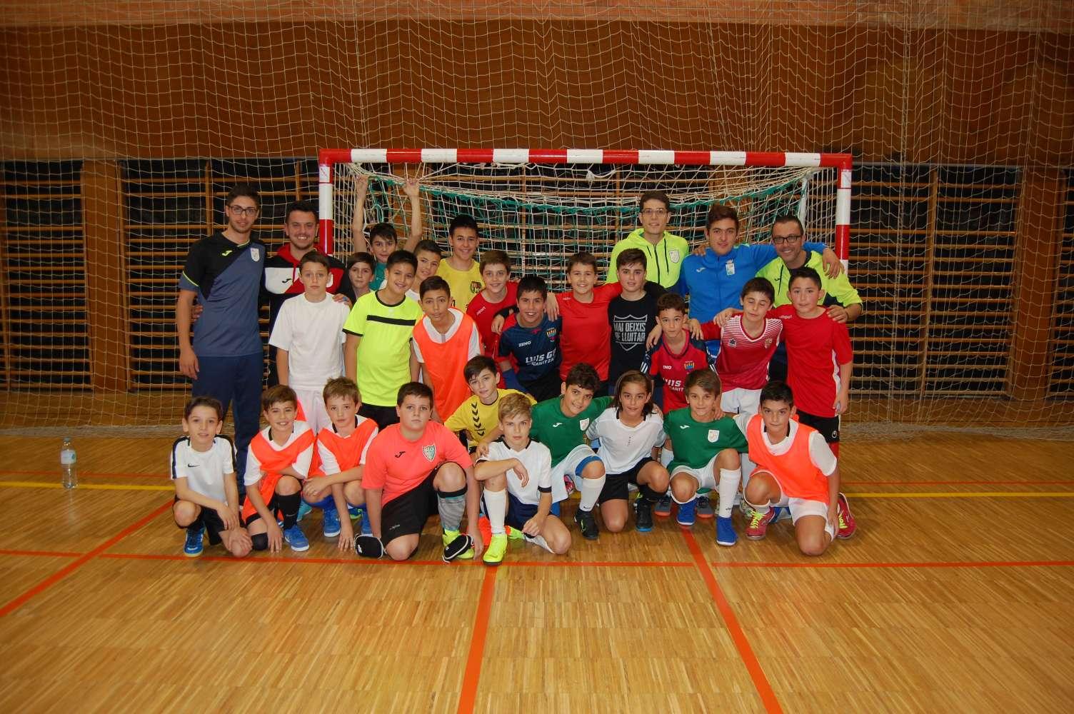 4a sessió entrenament Selecció Comarcal. Maresme - Girona