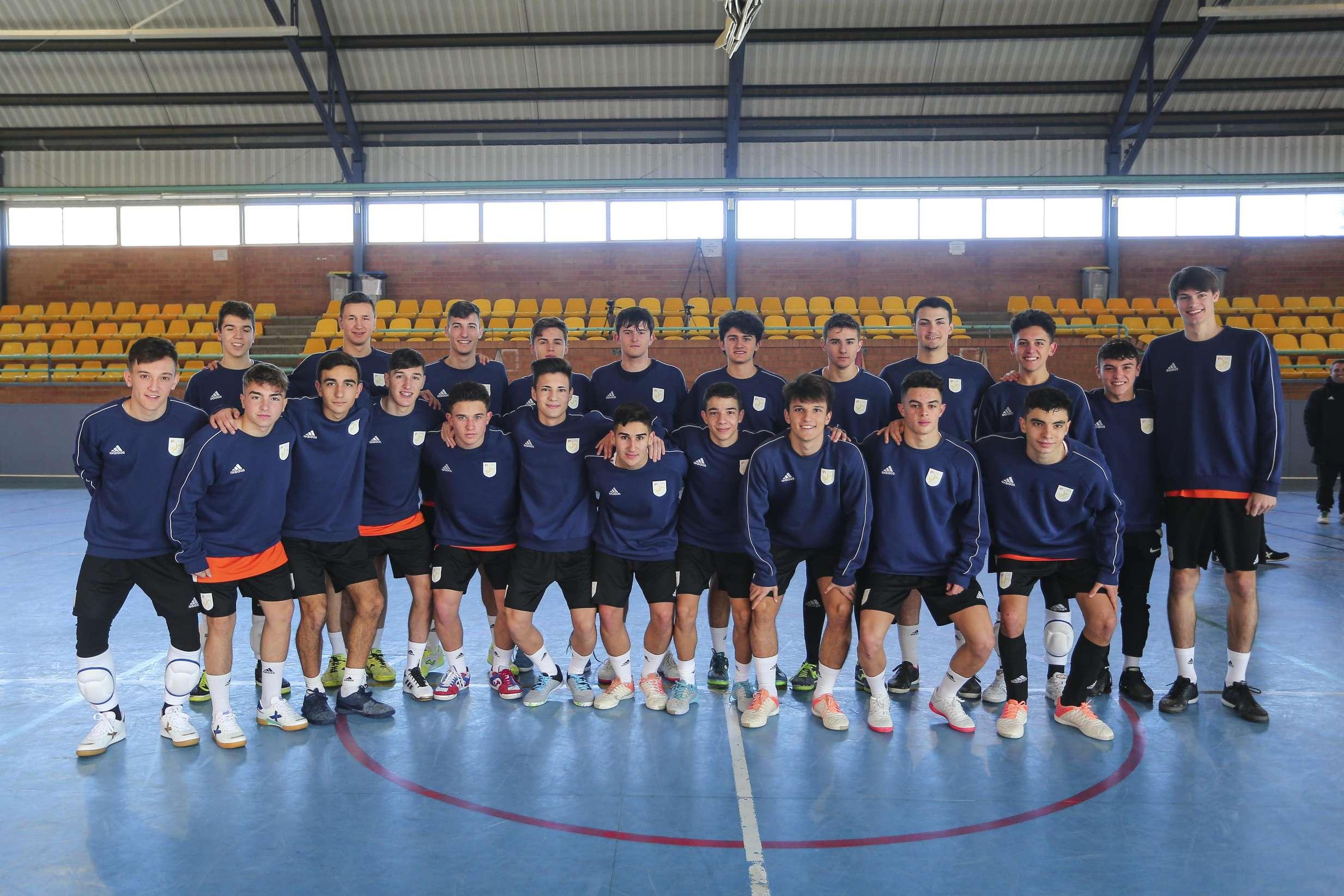 Selecció Catalana sub 19 i sub 16 de futbol sala