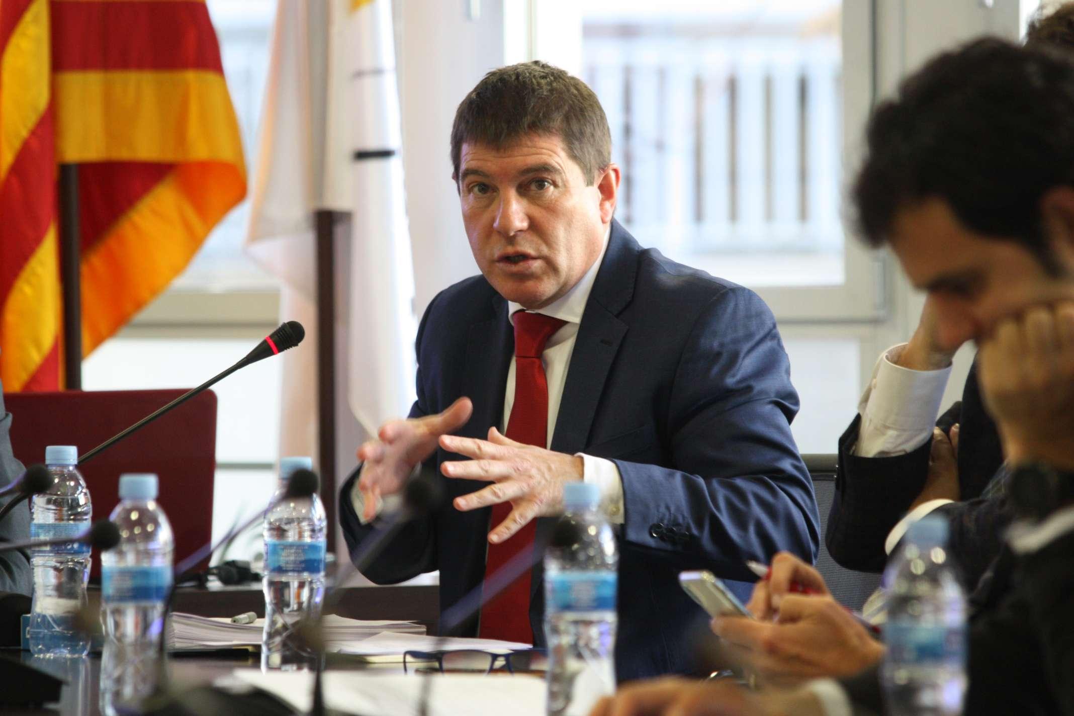 En la trobada s'ha presentat el coordinador territorial de la RFEF a Catalunya, Josep Ayuso
