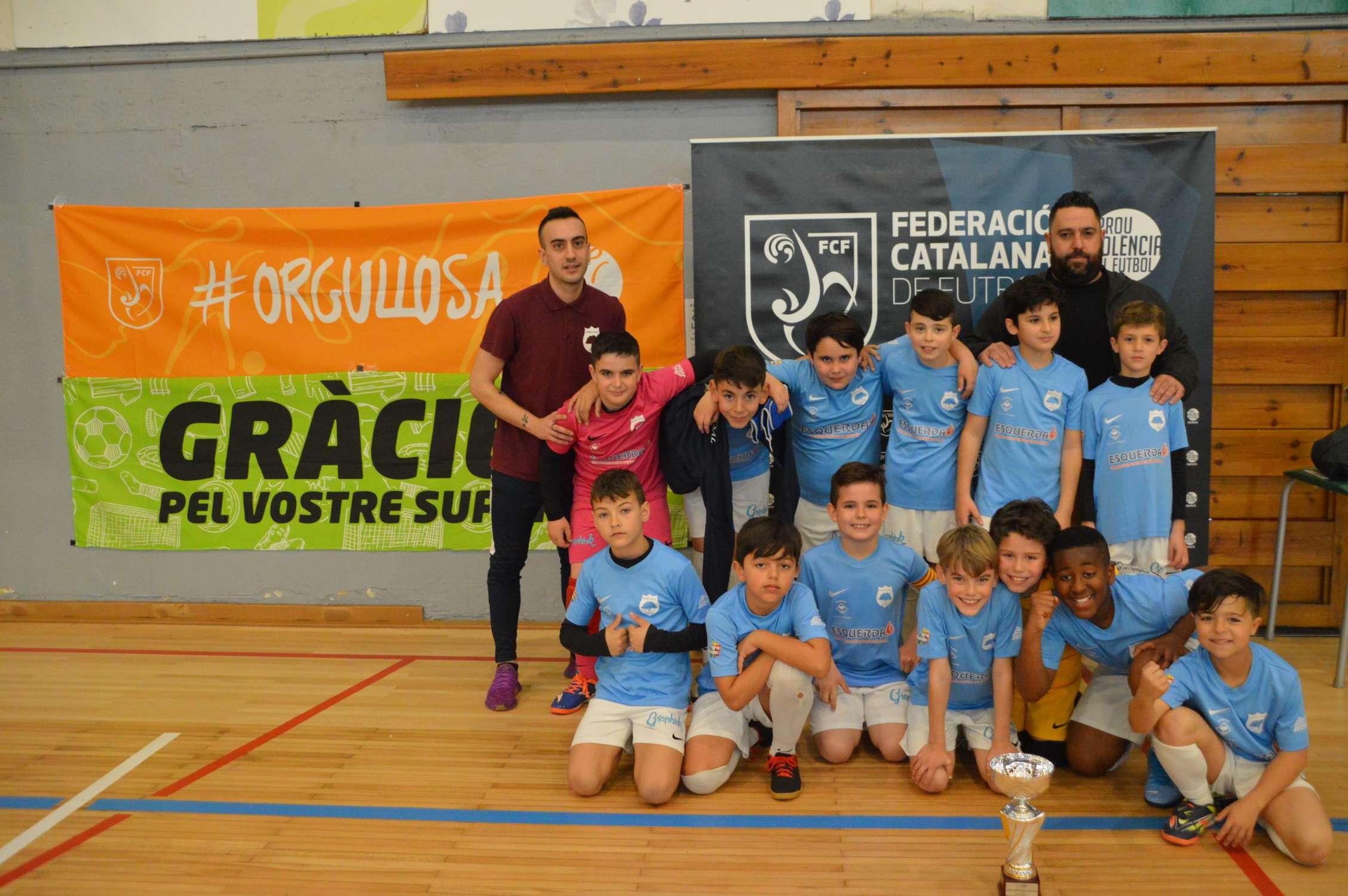 Campió Benjamí Copa Lleida - Ponent Futsal Alcarràs (Clàudia Ramos)