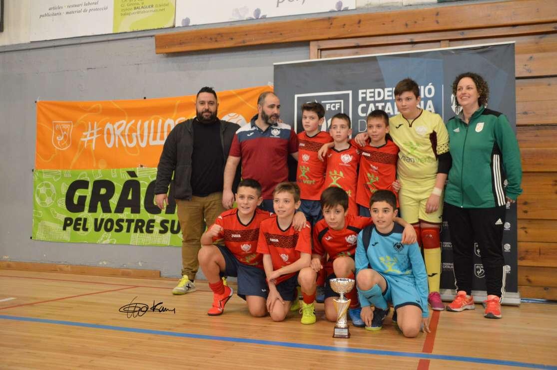 Campió Aleví Copa Lleida - Corbins FS (Clàudia Ramos)