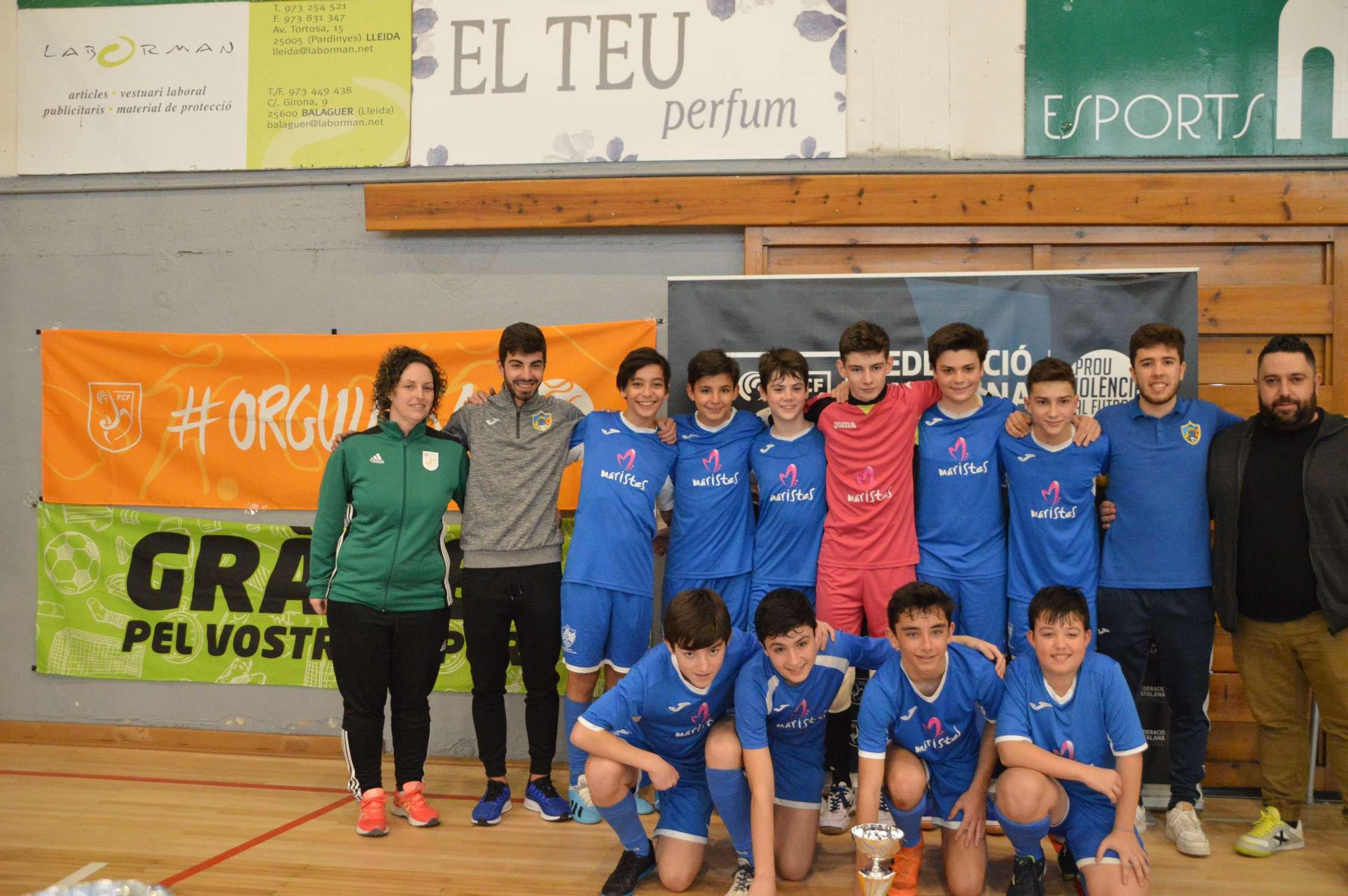 Campió Infantil Copa Lleida - Maristes Montserrat Lleida (Clàudia Ramos)