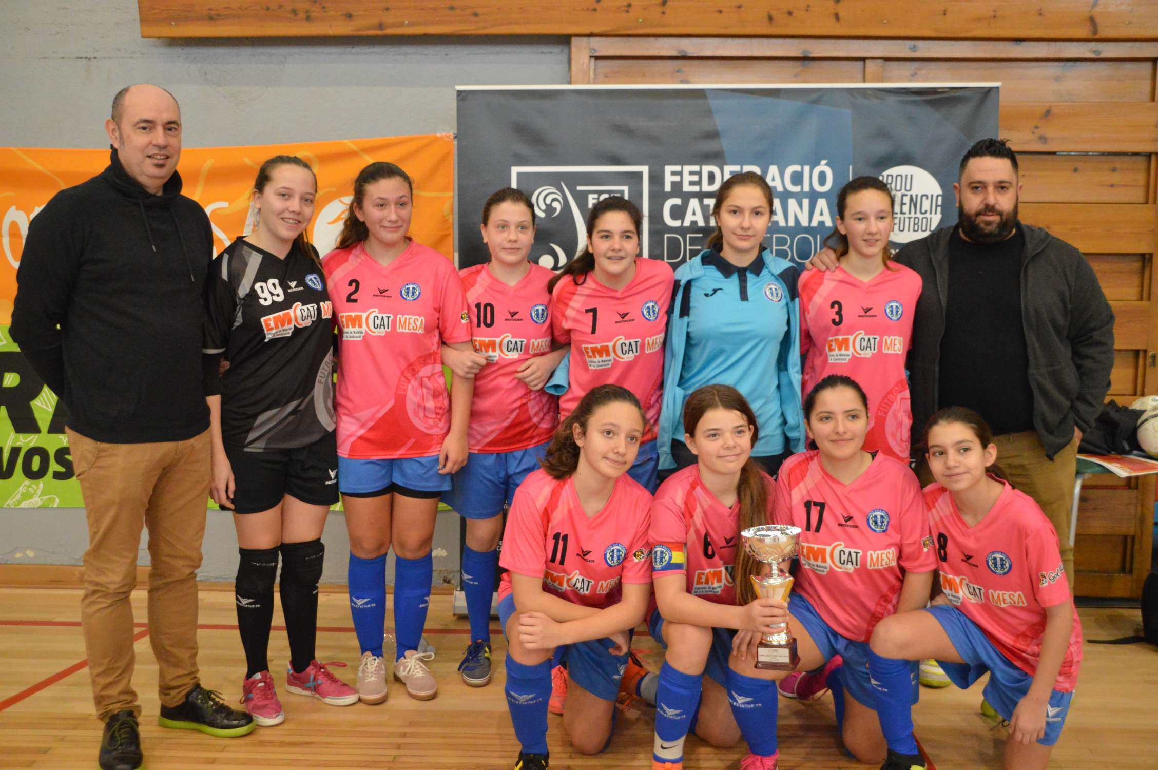Campiones Cadet femení Copa Lleida - CFS Encamp (Clàudia Ramos)