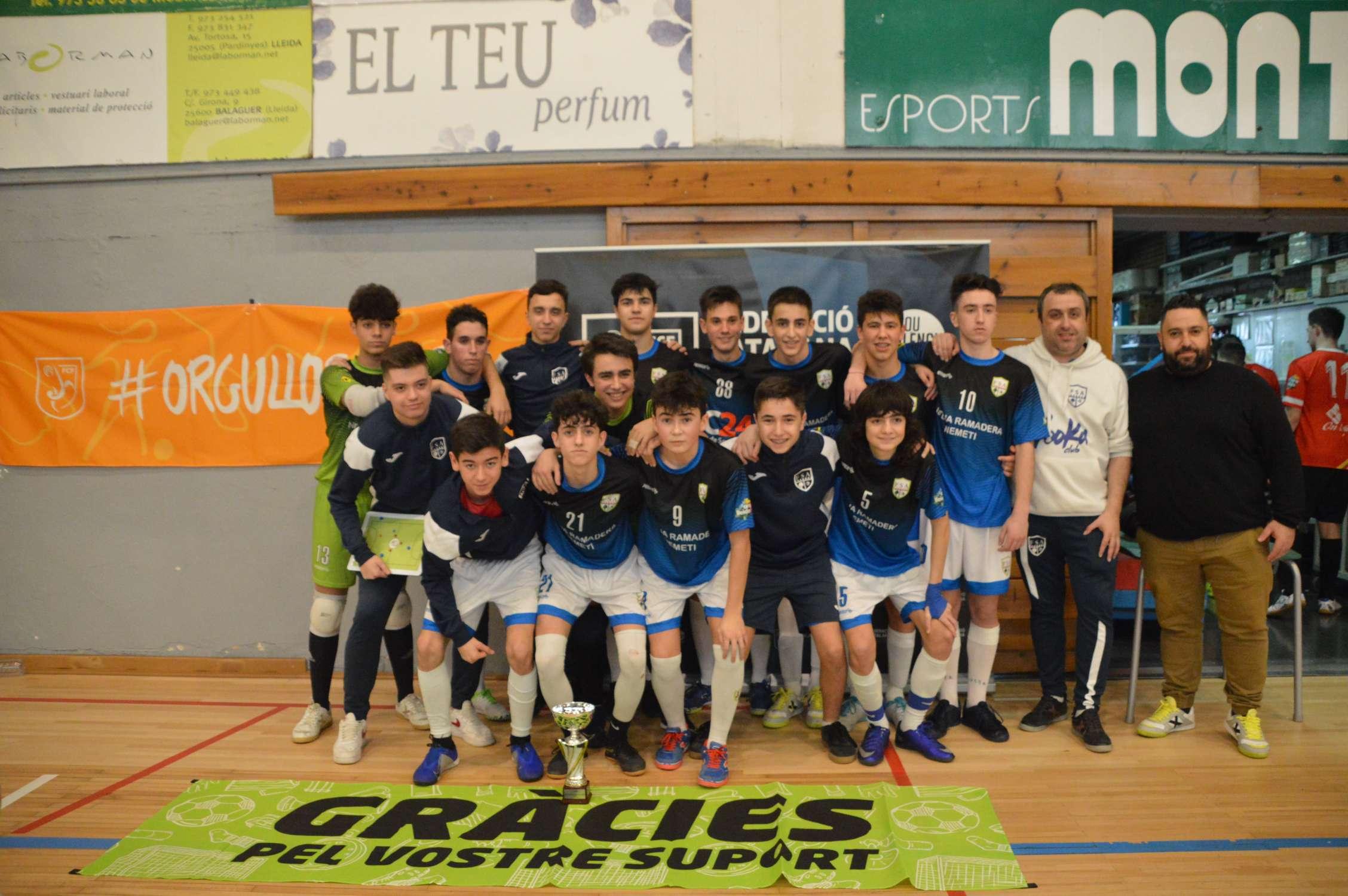 Campió Cadet Copa Lleida - Alcoletge CFS (Clàudia Ramos)