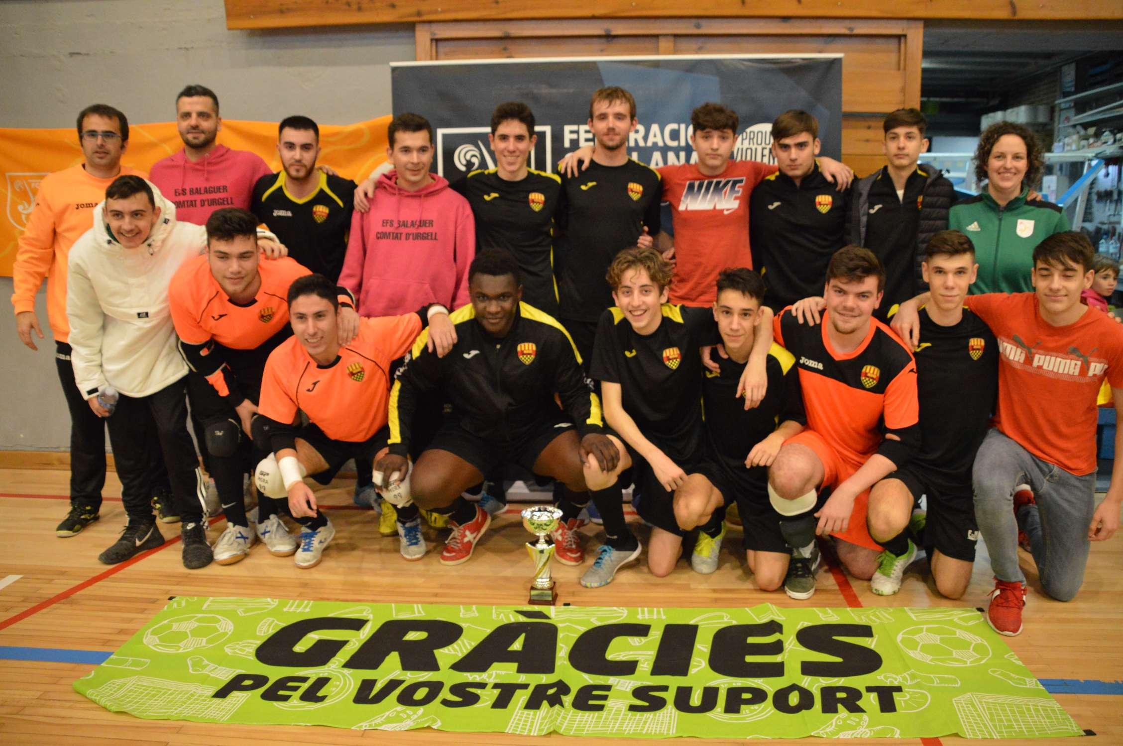 Campió Juvenil Copa Lleida - EFS Balaguer Comtat d'Urgell (Clàudia Ramos)