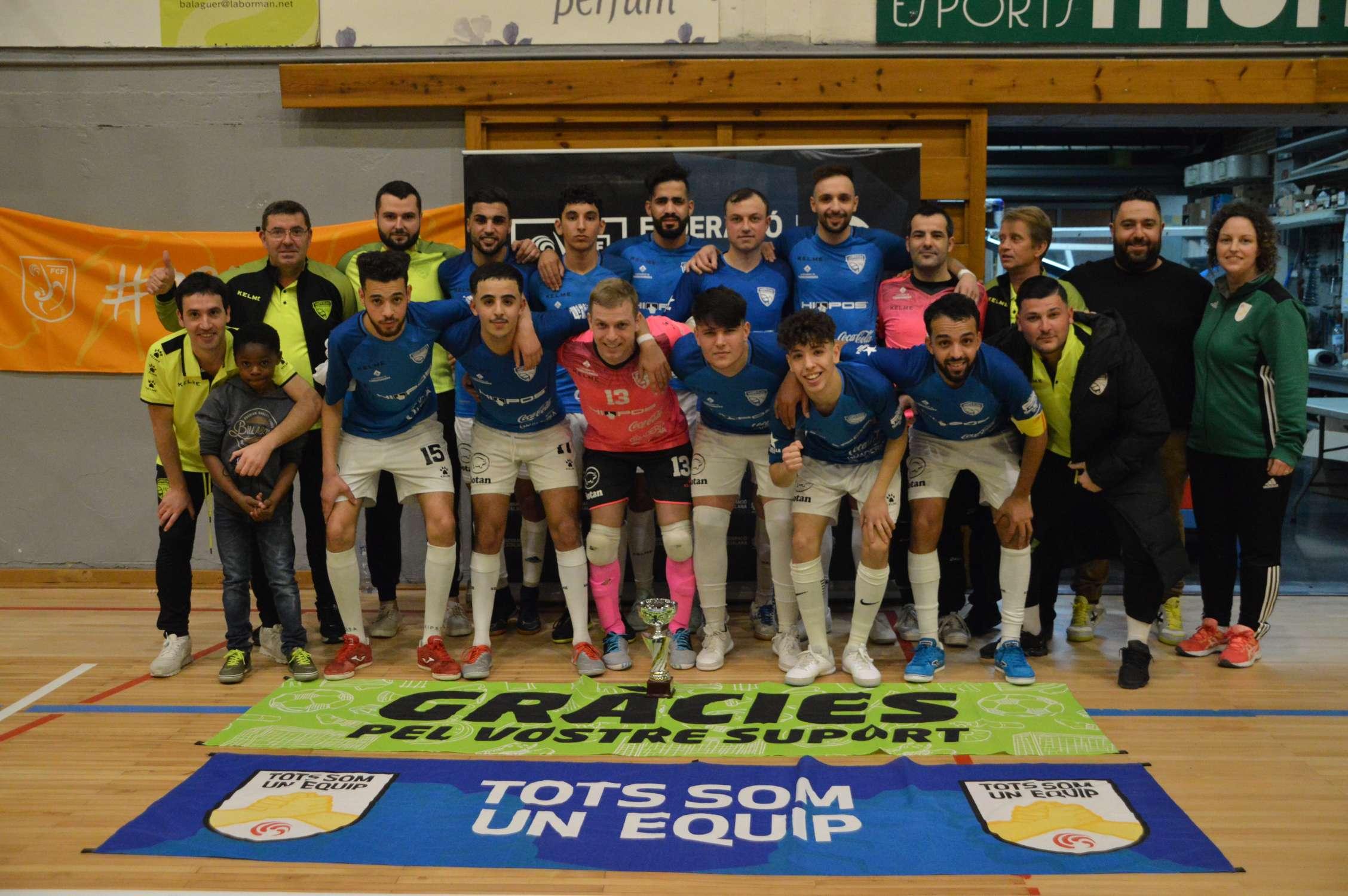 Campió Sènior Copa Lleida - Grupo Elias Rest. Torrefarrera (Clàudia Ramos)