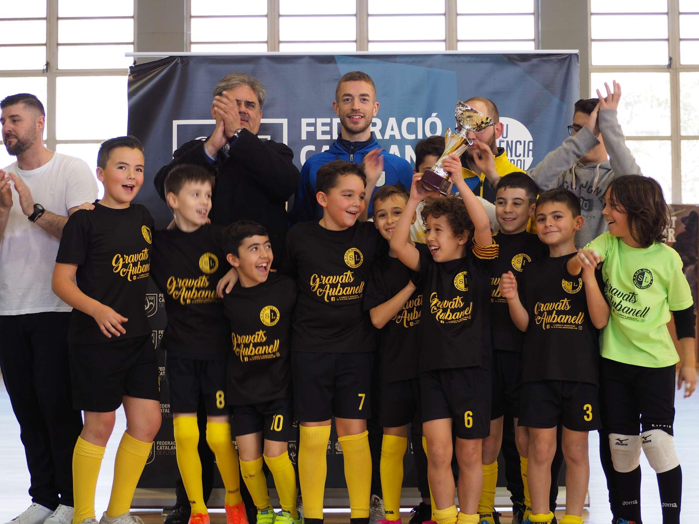 Campió Benjamí Copa Girona - EFS Palafolls 'A'