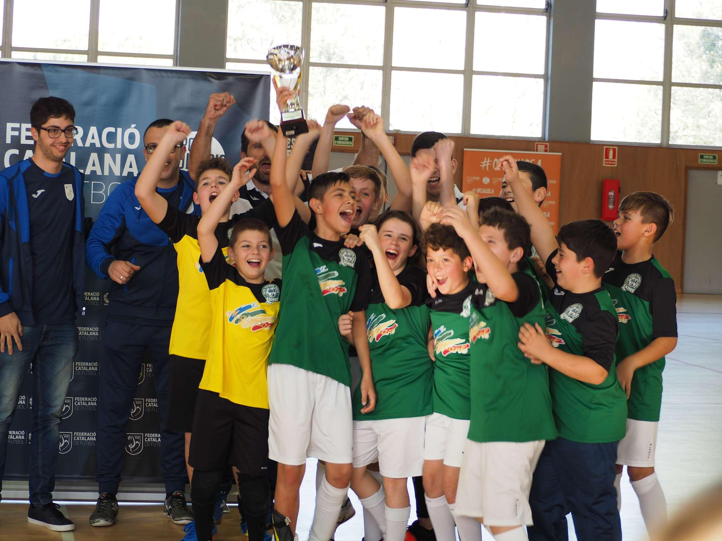 Campió Aleví Copa Girona - Lloret Costa Brava CUFS