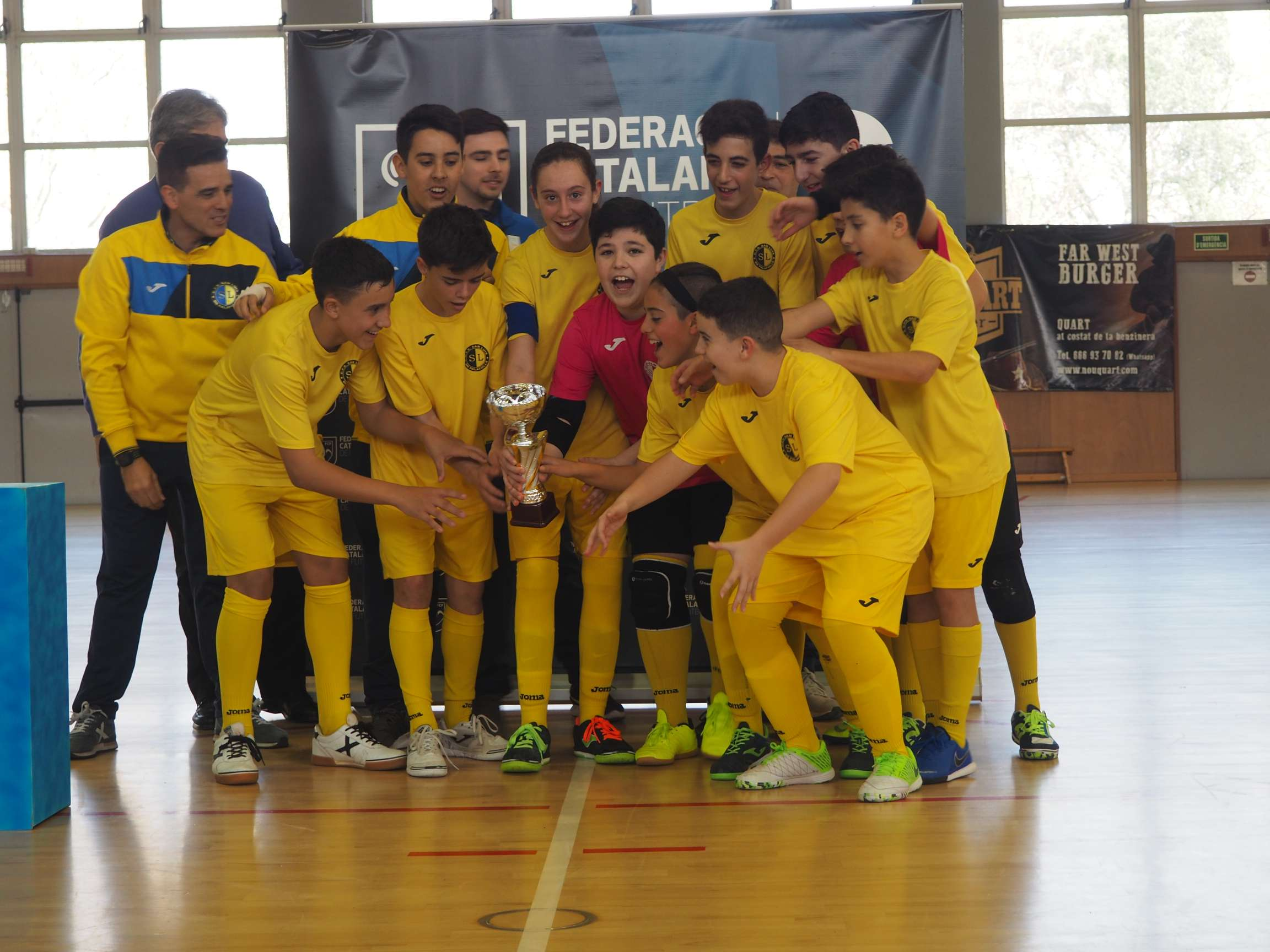 Campió Infantil Copa Girona - EFS Palafolls 'B'
