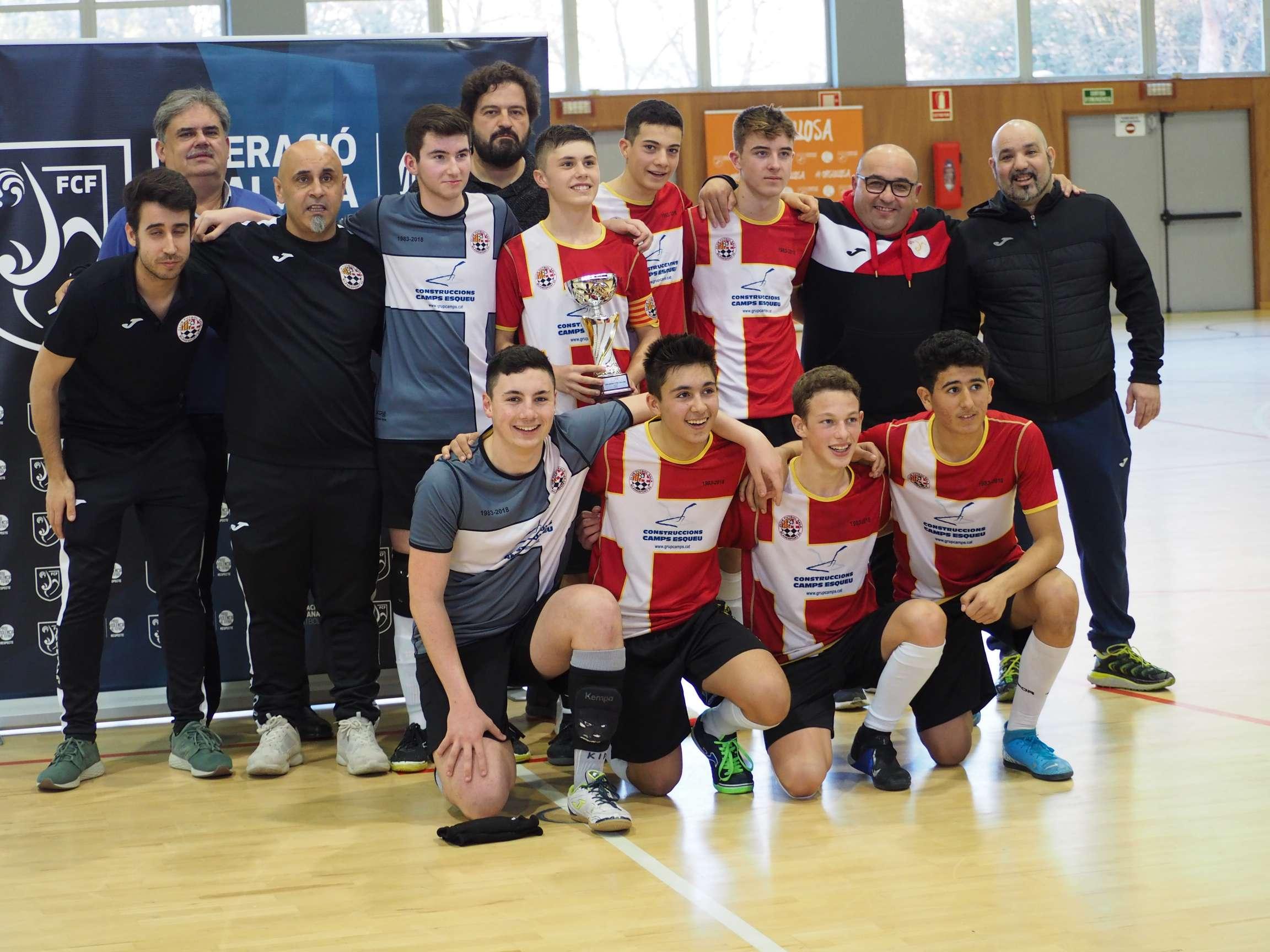 Campió Cadet Copa Girona - Blanesport 83 FS