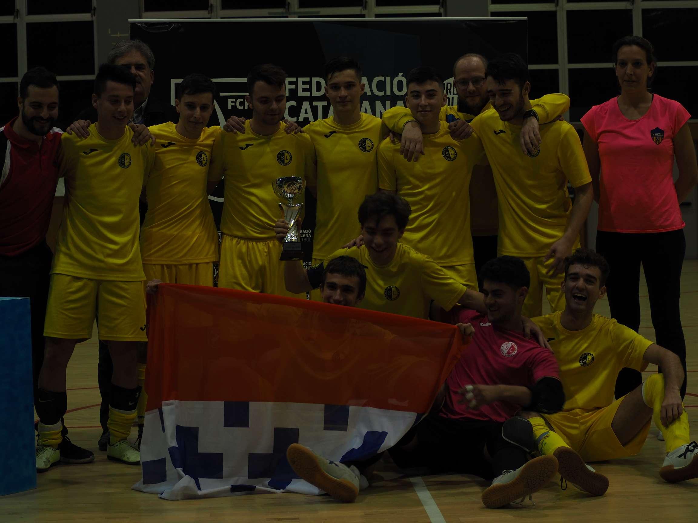 Campió Juvenil Copa Girona - EFS Palafolls 'A'