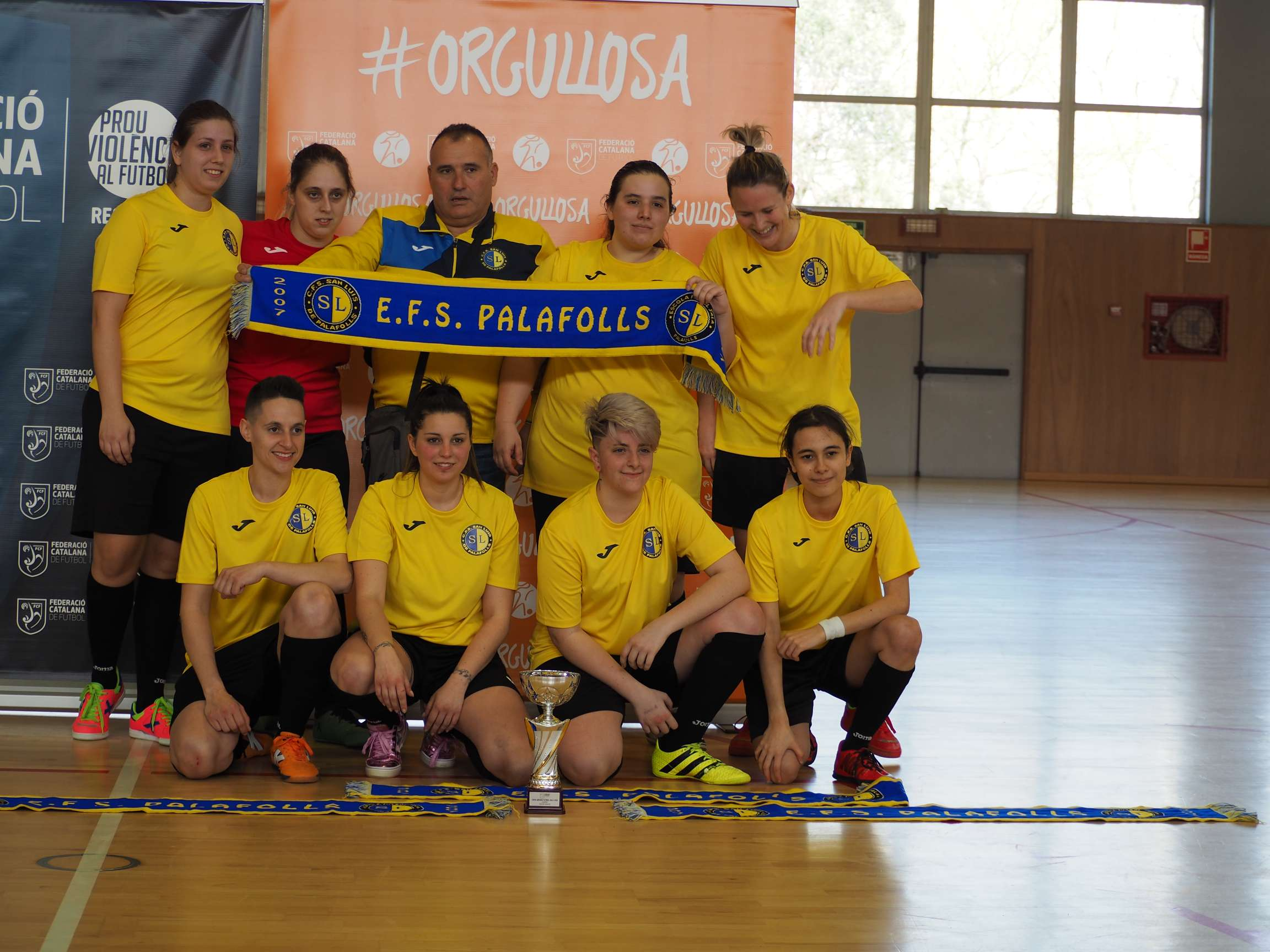 Campió Sènior femení Copa Girona - EFS Palafolls 'A'