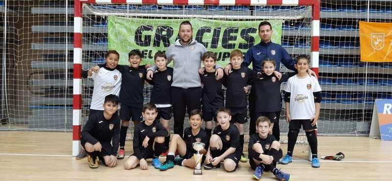 Campió Benjamí Copa Tarragona - Amposta FS