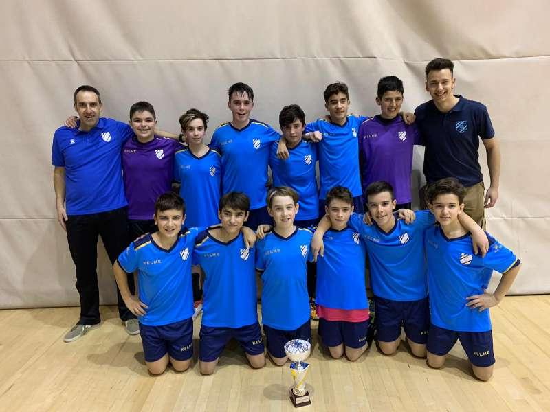 Campió Infantil Copa Tarragona - CFS Mediterrani Cambrils