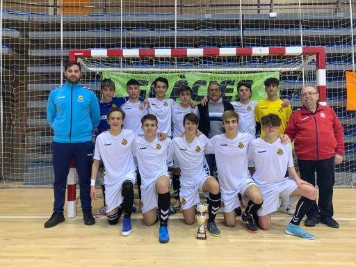 Campió Cadet Copa Tarragona - C. Gimnàstic de Tarragona