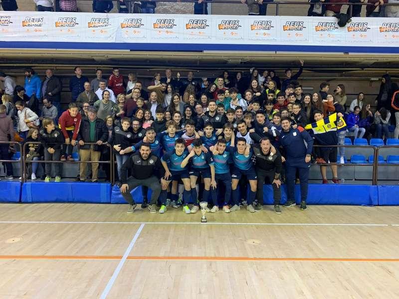 Campió Juvenil Copa Tarragona - Tecnovit Alforja FS