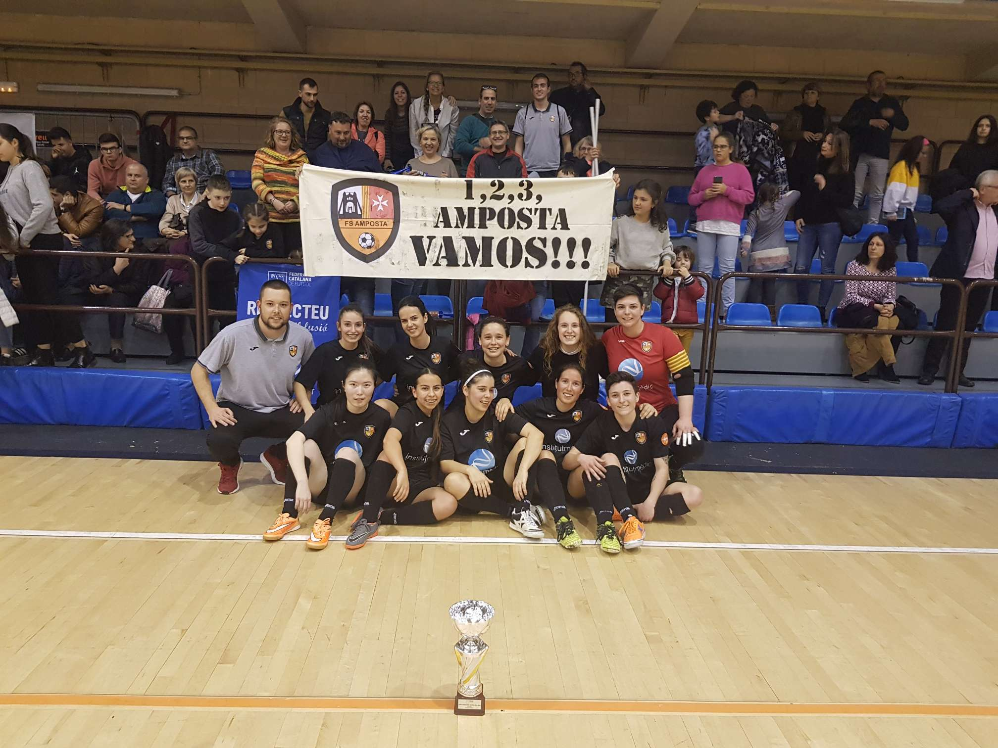 Campiones Sènior femení Copa Tarragona - Amposta FS