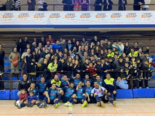 Campió Sènior Copa Tarragona - Tecnovit Alforja FS