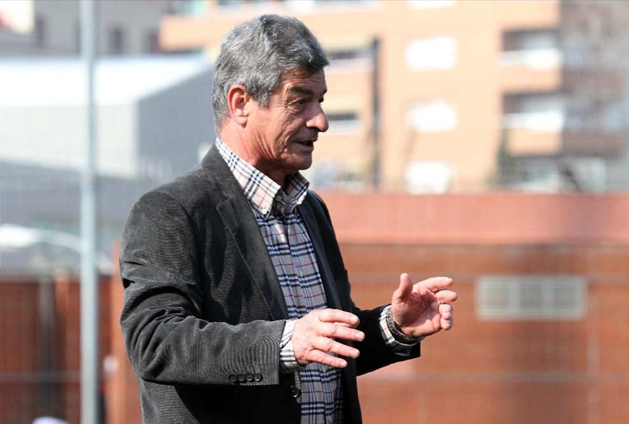 Ferran Manresa, en la seva última etapa a les banquetes, amb el RCD Espanyol 'B', el 2011 / FOTO: RCD Espanyol