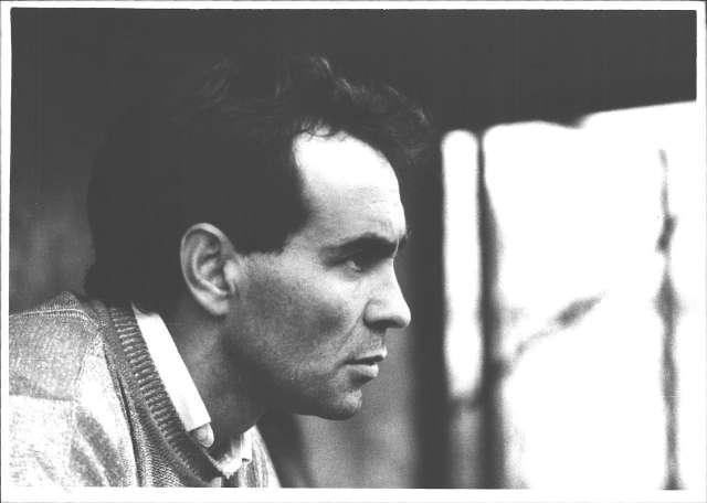 Pere Bonell, en la seva etapa dirigint el CF Badalona el curs 1986-1987. FOTO: El Punt