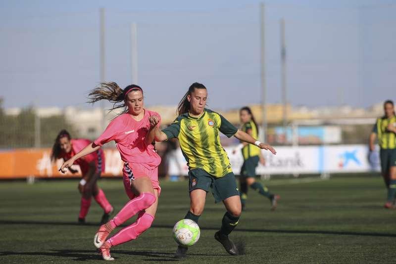 Les jugadores del RCD Espanyol Femení 'B' ja es troben preparant el play-off / FOTO: Arxiu