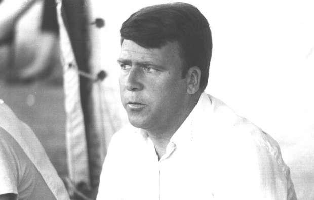 García Ramos, com a tècnic del Club Gimnàstic de Tarragona, el curs 1987-1988 / FOTO: El Punt