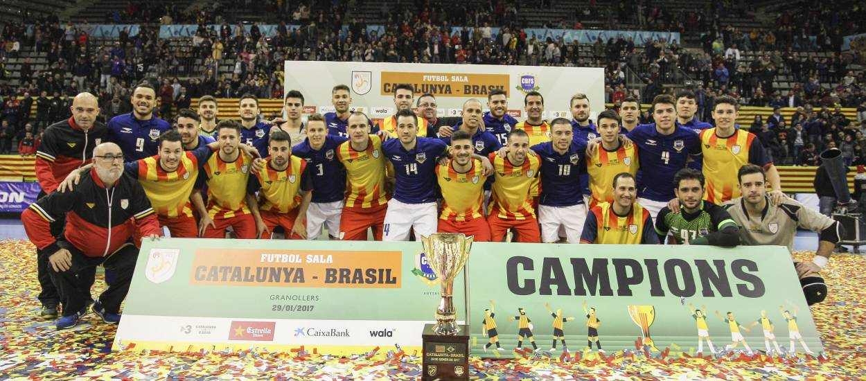 Gran espectacle en el Catalunya-Brasil