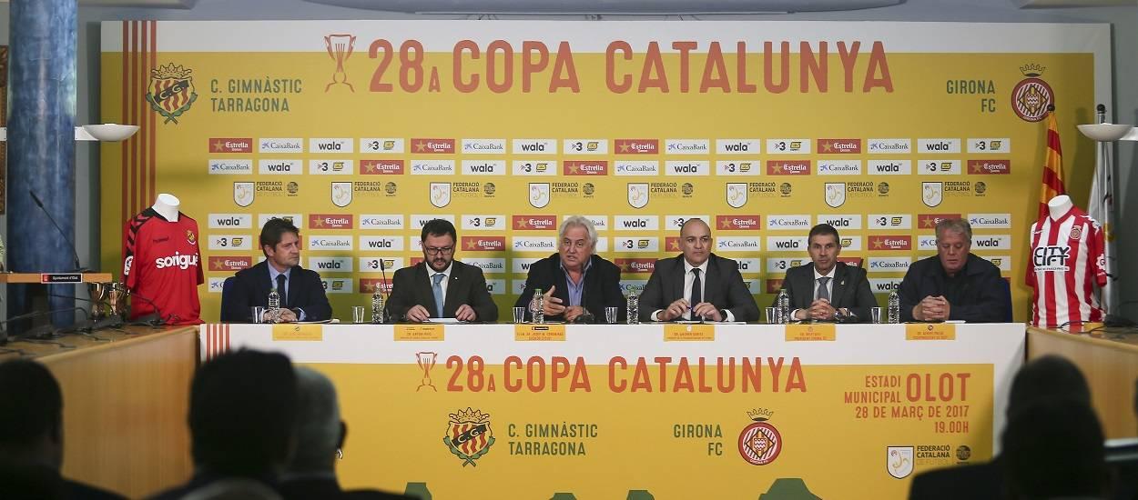Tot a punt per a la Final de la Copa Catalunya