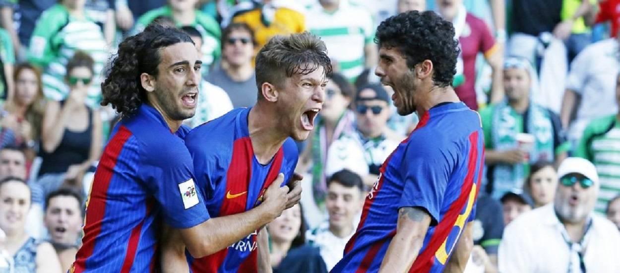 El Barça 'B' venç al Sardinero i s'apropa a Segona Divisió 'A'