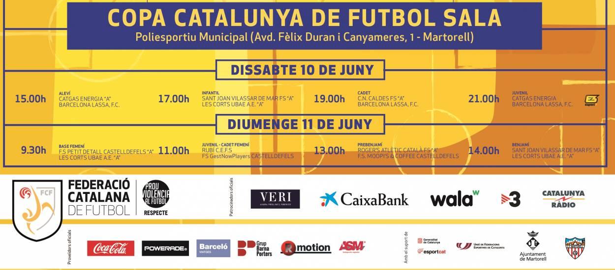 La gran festa del futbol sala català es clausura amb múltiples activitats
