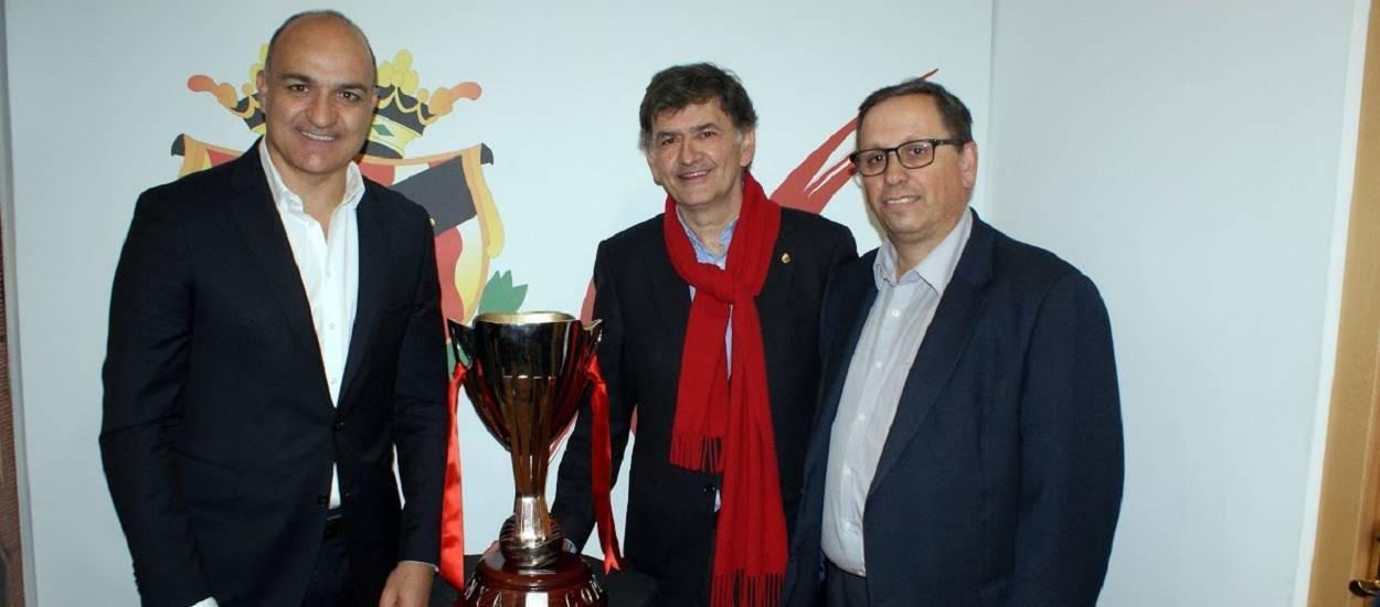 El Nàstic ofereix la Copa Catalunya a la seva afició